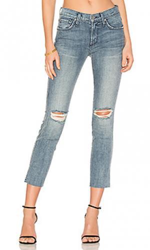 Джинсы по лодыжку ciggy James Jeans. Цвет: none