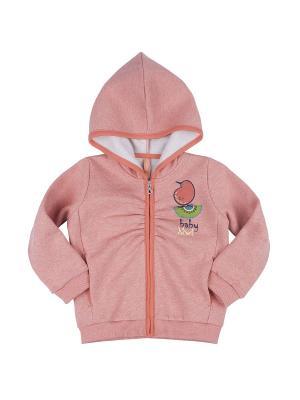 Толстовка KOGANKIDS. Цвет: персиковый