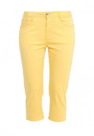 Капри G&G. Цвет: желтый
