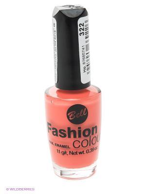 Устойчивый гипоаллергенный лак для ногтей Fashion Colour, тон 322 Bell. Цвет: коралловый