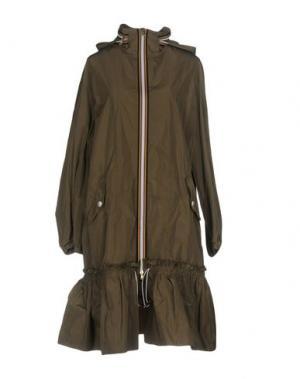 Легкое пальто TENAX. Цвет: зеленый-милитари