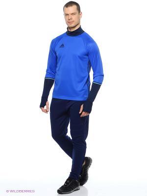 Джемпер Con16 Trg Top Adidas. Цвет: синий