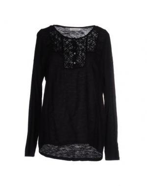 Блузка BELLA JONES. Цвет: черный