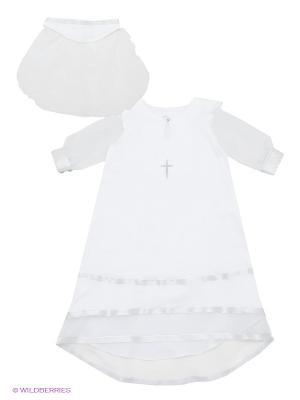 Комплект для крещения Ангел мой. Цвет: серебристый, белый