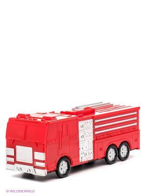 Набор-трансформер Пожарная машина - Автогород Пламенный мотор. Цвет: черный, красный, оранжевый, белый
