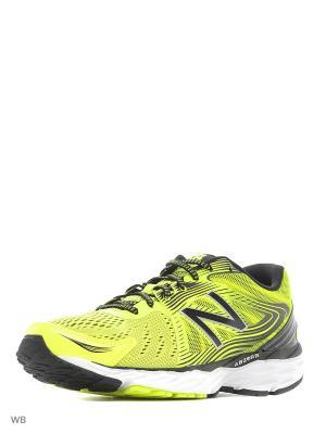 Кроссовки New Balance 680. Цвет: желтый