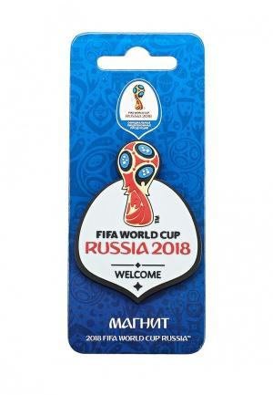 Магнит 2018 FIFA World Cup Russia™. Цвет: белый