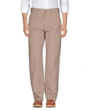 Повседневные брюки WOOLRICH WOOLEN MILLS. Цвет: бежевый