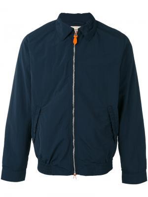 Куртка на молнии с воротником Bellerose. Цвет: синий