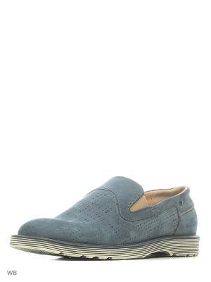 Ботинки HCS. Цвет: бежевый, голубой