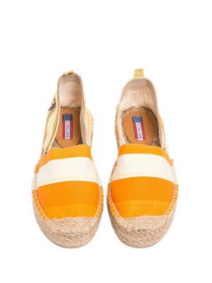 Эспадрильи U.S. Polo Assn.. Цвет: оранжевый