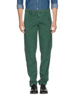 Повседневные брюки JAGGY. Цвет: темно-зеленый