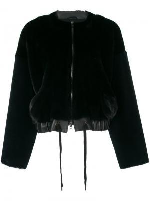 Куртка со шнурком Inès & Maréchal. Цвет: чёрный