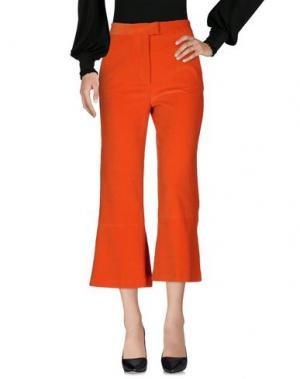 Брюки-капри MSGM. Цвет: оранжевый
