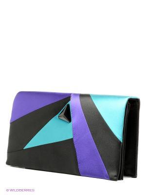 Клатч Eleganzza. Цвет: черный, бирюзовый, фиолетовый