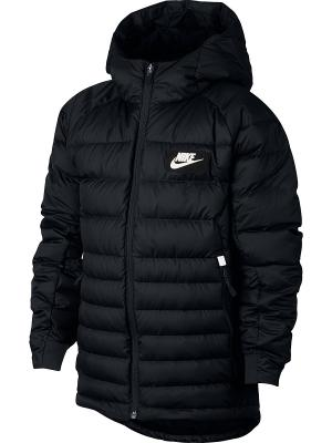 Пуховик B NSW JKT HD DWN FILL GUILD550 Nike. Цвет: черный, белый