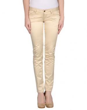 Повседневные брюки SEVEN7. Цвет: бежевый