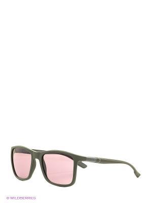 Солнцезащитные очки BK 210S 07 Bikkembergs. Цвет: зеленый