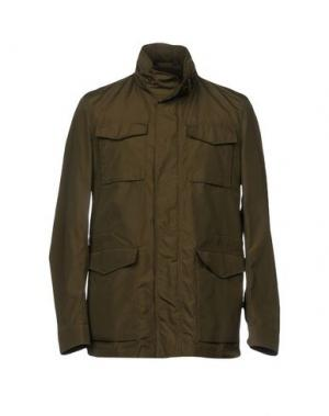 Куртка MONTEDORO. Цвет: зеленый-милитари