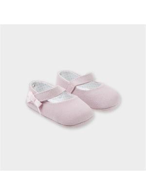 Туфли-балетки Tutto Piccolo. Цвет: розовый