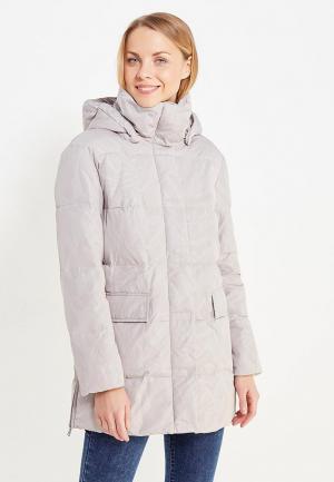 Куртка утепленная Finn Flare. Цвет: серый
