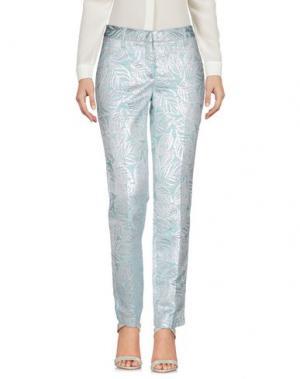 Повседневные брюки GIULIETTE BROWN. Цвет: небесно-голубой
