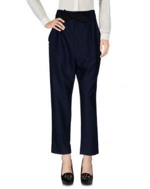 Повседневные брюки SEA. Цвет: темно-синий