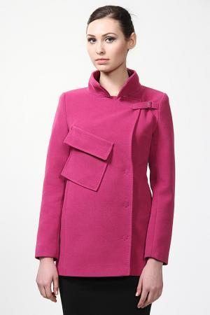 Пальто Exclusive. Цвет: розовый