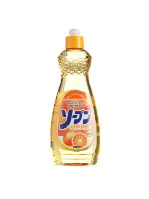 Жидкость для мытья посуды, овощей и фруктов KANEYO сладкий апельсин 600 мл. Цвет: белый