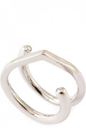 Кольцо Xr. Цвет: серебряный