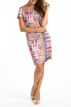 Платье TOK. Цвет: vinous and violet