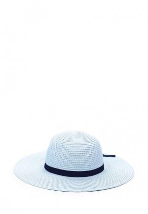 Шляпа Fabretti. Цвет: голубой