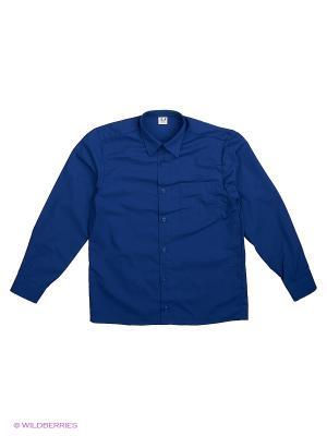 Рубашка Аэлита. Цвет: индиго