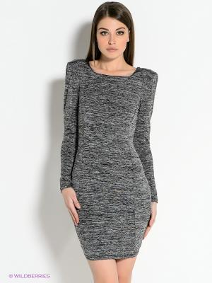 Платье AX Paris. Цвет: серый