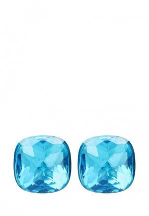 Серьги Fiore Luna. Цвет: голубой