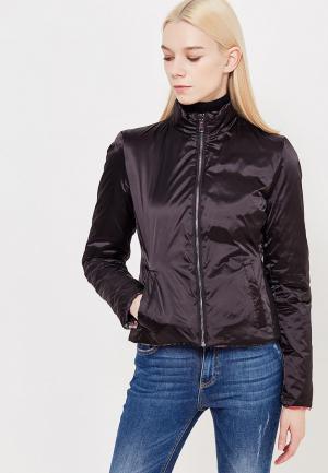Куртка утепленная Liu Jo Jeans. Цвет: черный