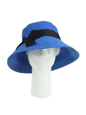 Шляпа Moltini. Цвет: синий
