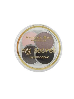 Тени для век My Secret № 225 Victoria Shu. Цвет: темно-коричневый