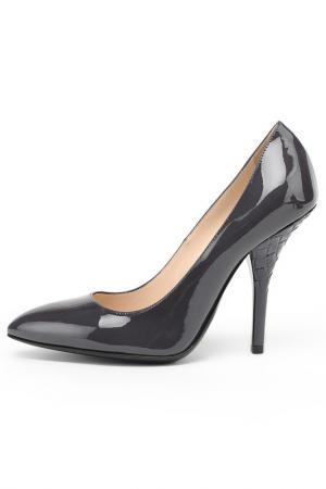Туфли Bottega Veneta. Цвет: темно-серый