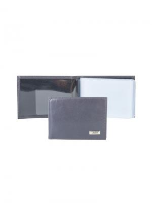 Футляр для кредитных карт Tirelli. Цвет: серый