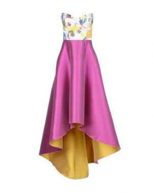Платье до колена LEITMOTIV. Цвет: фиолетовый