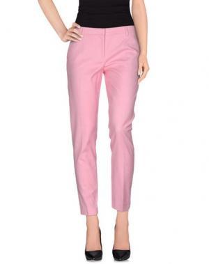 Повседневные брюки FABERGE&ROCHES. Цвет: светло-фиолетовый