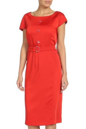 Платье MODART. Цвет: красный