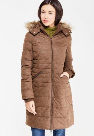 Куртка утепленная Dry Laundry. Цвет: коричневый