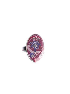 Кольцо Clara Bijoux. Цвет: сиреневый, розовый, фиолетовый