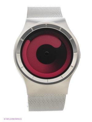 Наручные часы Mercury Chrome - Magenta Ziiiro. Цвет: серебристый, розовый