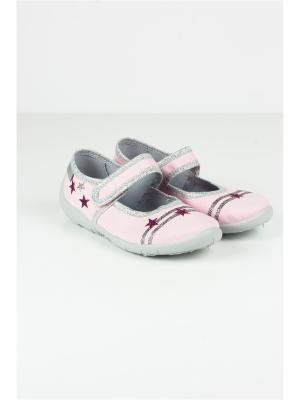 Туфли Little Lemon Bear. Цвет: розовый