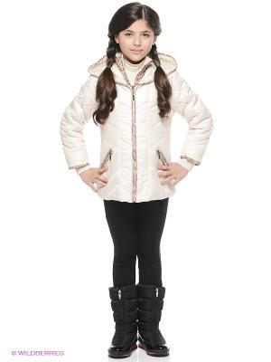 Куртка SAIMA. Цвет: кремовый