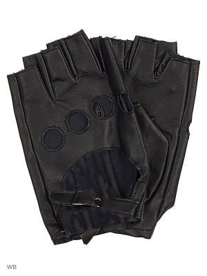 Перчатки мужские Gaudi. Цвет: черный