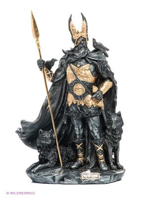 Статуэтка Один - скандинавский Бог Veronese. Цвет: темно-серый, золотистый